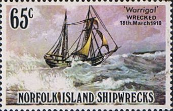 Norfolk Island 1982 Shipwrecks SG 292 Fine Mint Scott 298 Other European and British Commonwealth Stamps HERE!