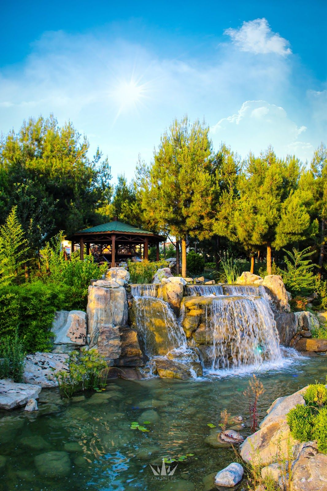 صورة من اعماق الطبيعة في اسطنبول تركيا Outdoor Nature House Styles
