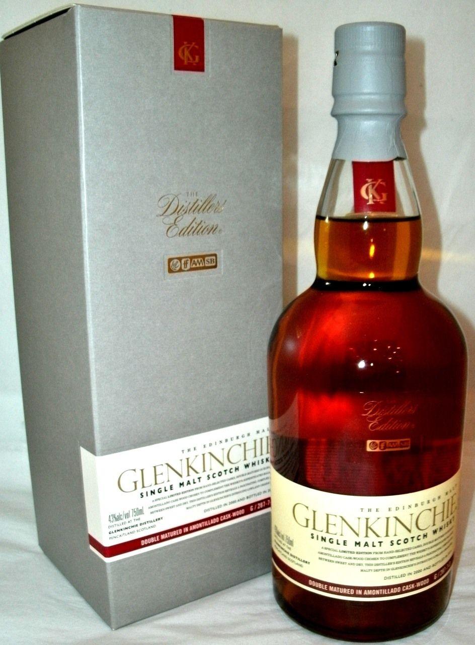 Glenkinchie Distiller S Edition Con Imagenes Licor Whisky
