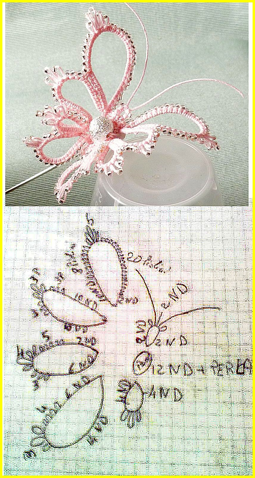 Chiacchierino schemi - Tatting free pattern - frivolitè - gratis ...