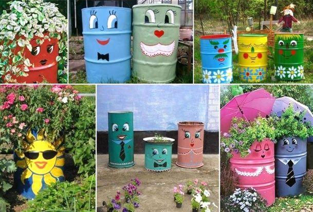22+ Idee deco jardin recyclage ideas