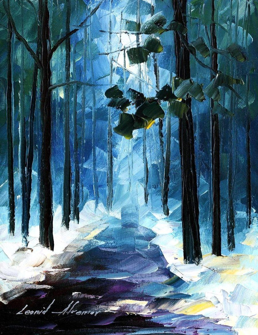 8937c367c8c WINTER FOREST LEONID AFREMOV by  Leonidafremov on deviantART