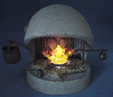 This Calcifer fireplace ($40). | The Ultimate Gift Guide For All Your Miyazaki-Obsessed Friends