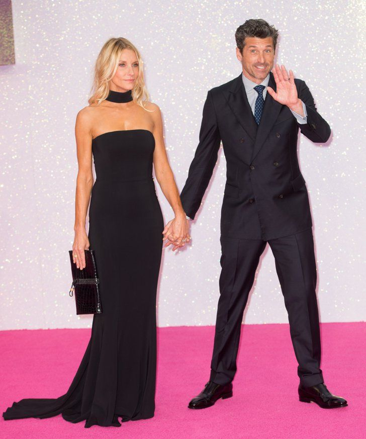 Patrick Dempsey Has A Charming Night Out With His Wife And Kids At
