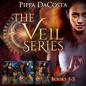 """Another must-listen from my #AudibleApp: """"The Veil Series (Books 1-3): A Muse Urban Fantasy"""" by Pippa DaCosta, narrated by Hollie Jackson."""