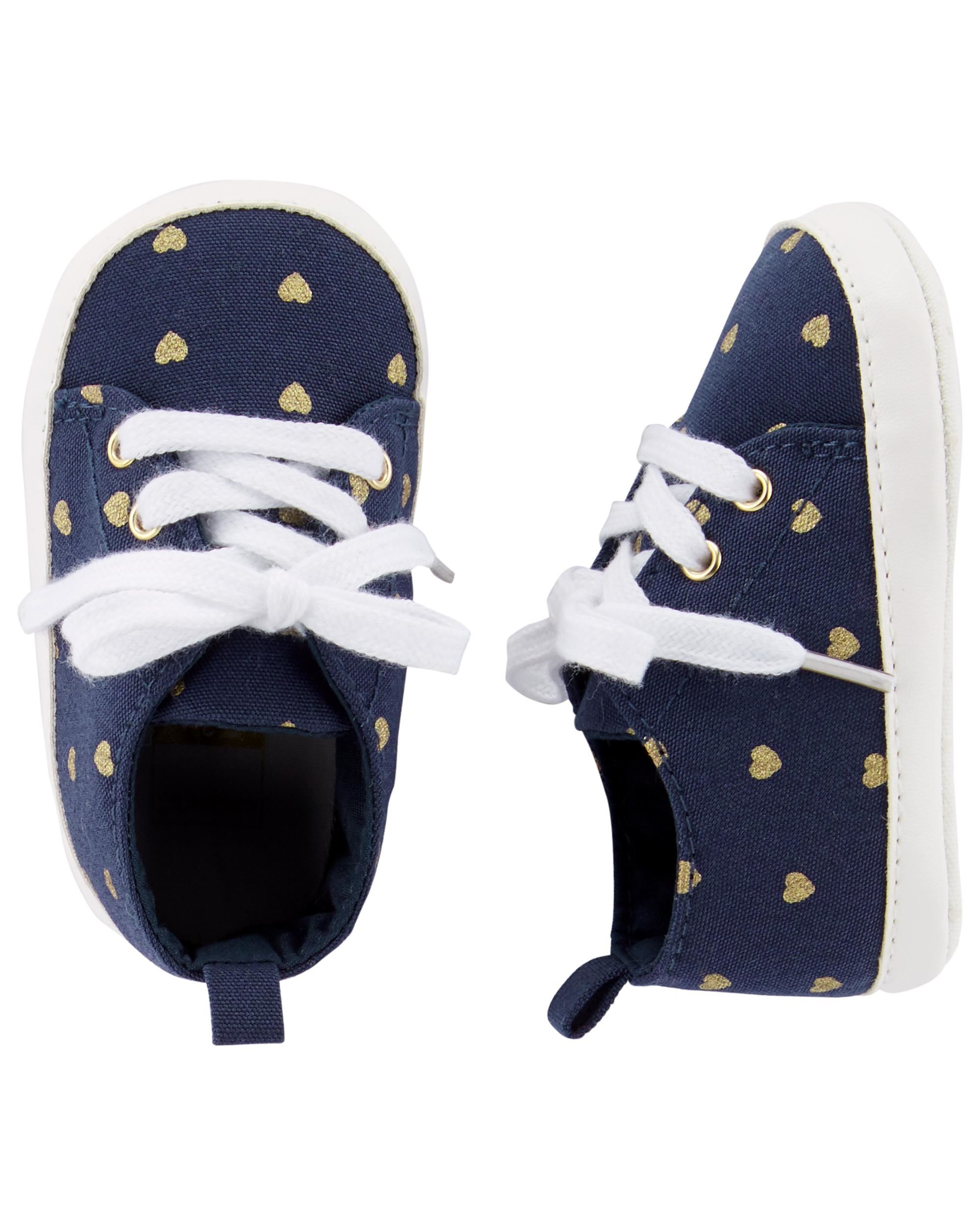 5c364d120 Heart Sneaker Baby Shoes | Love it | Baby sneakers, Carters baby ...