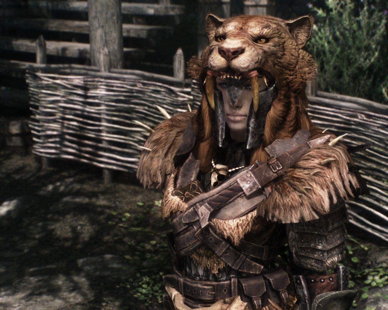 animal pelt armor | armor | Skyrim nexus mods, Skyrim, Larp
