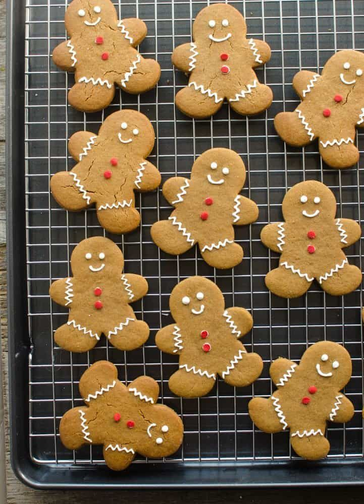 Classic Gingerbread Cookies Recipe | Soft Gingerbread Cookies