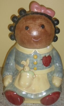 Treasure Craft Spice cookie jar