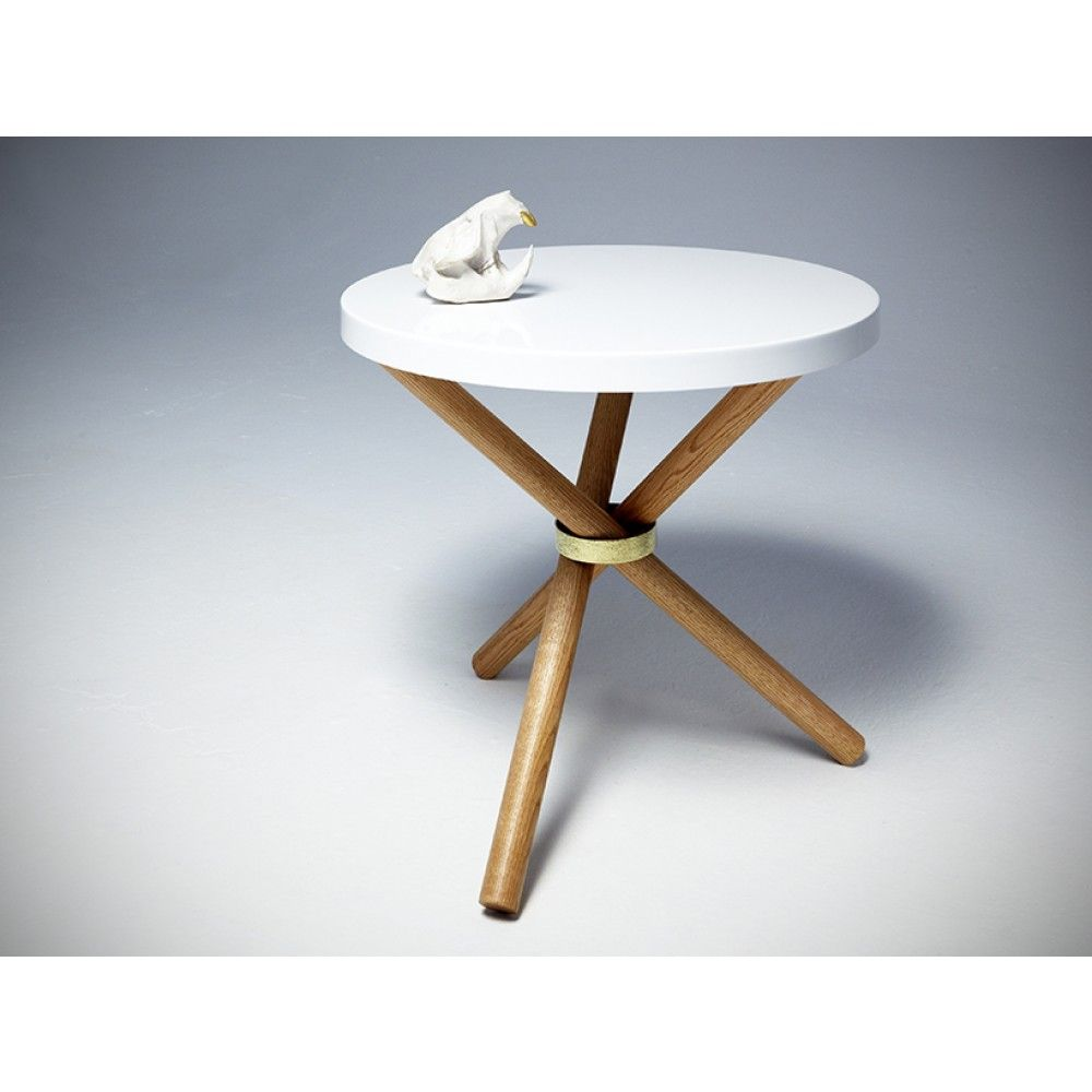 Tripod Table By Castor