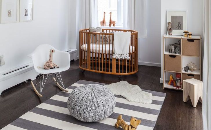 Une Chambre D Enfant En Bois Et Blanc Avec Images Deco Chambre