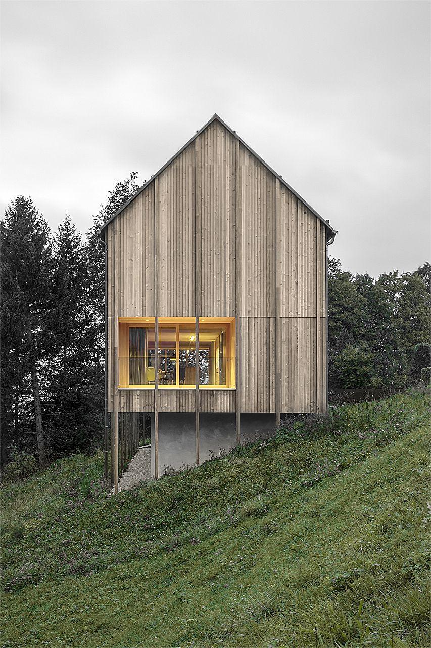 Gallery of Haus am Stürcherwald / Bernardo Bader Architekten - 1 ...