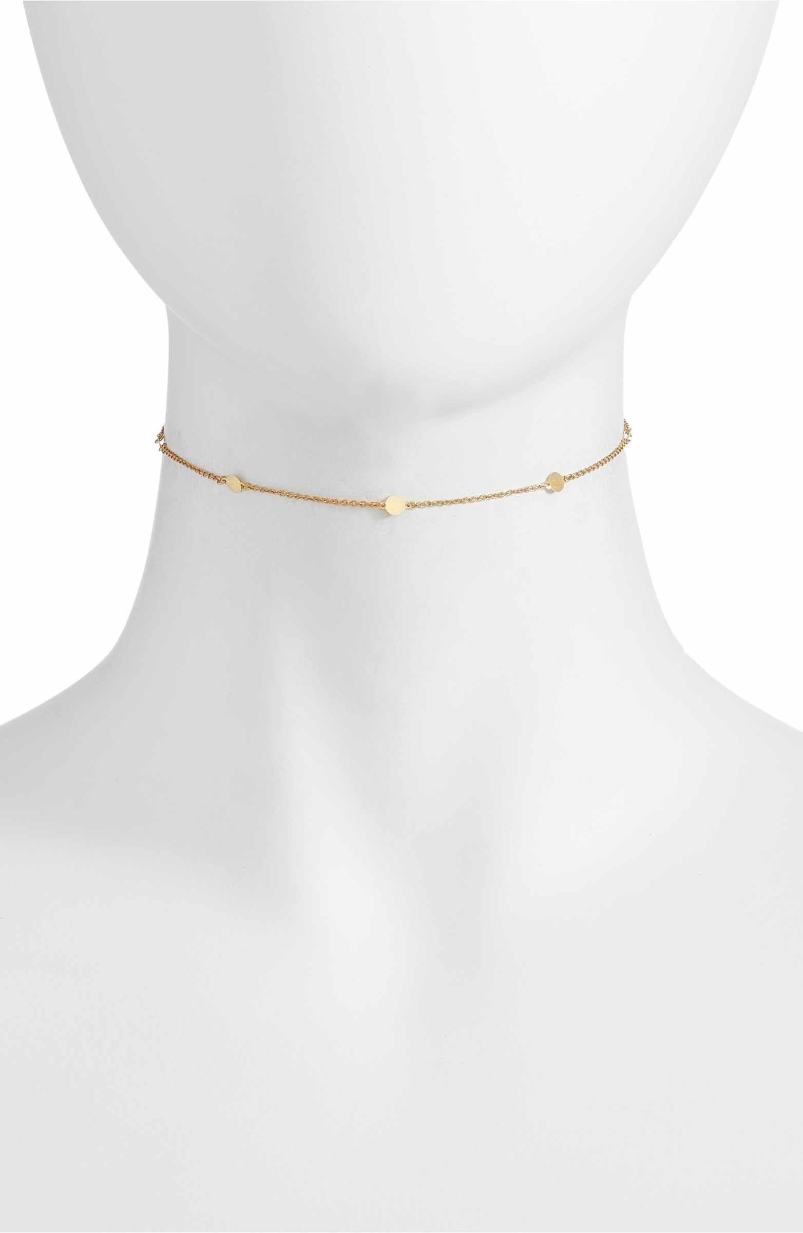 Station Chocker Necklace