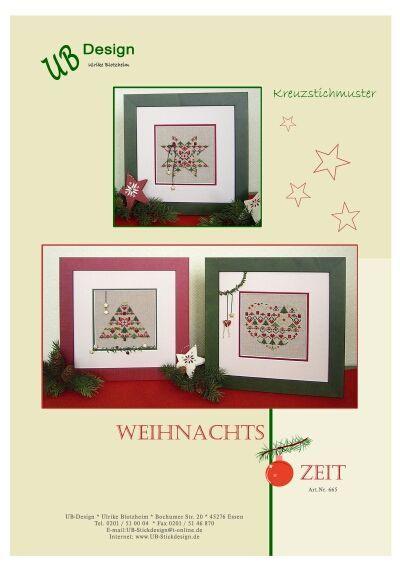 Pin von Heike Pellenz auf Weihnachten kreuzstich   Pinterest   Punto ...