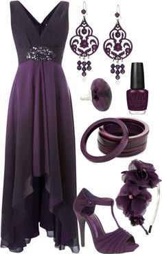 Purple Loving The Dress