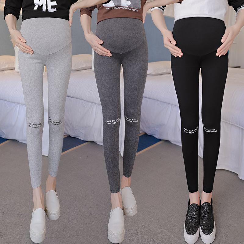 4e6a31c1c 2018 pantalones de verano para mujeres embarazadas ajustables mallas de  maternidad de gran tamaño variedad de