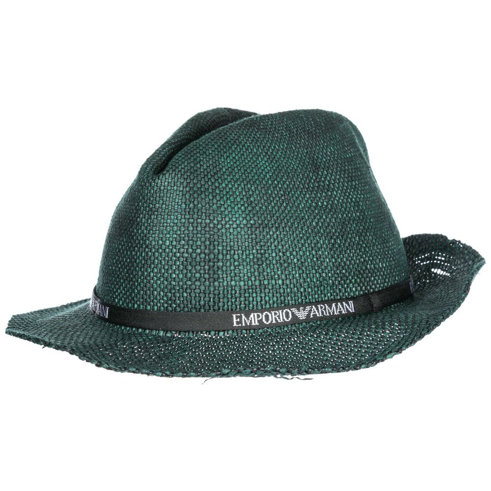 eBay  Sponsored EMPORIO ARMANI MEN S STRAW HAT FEDORA TRILBY PANAMA NEW DC7 5d6165b4732