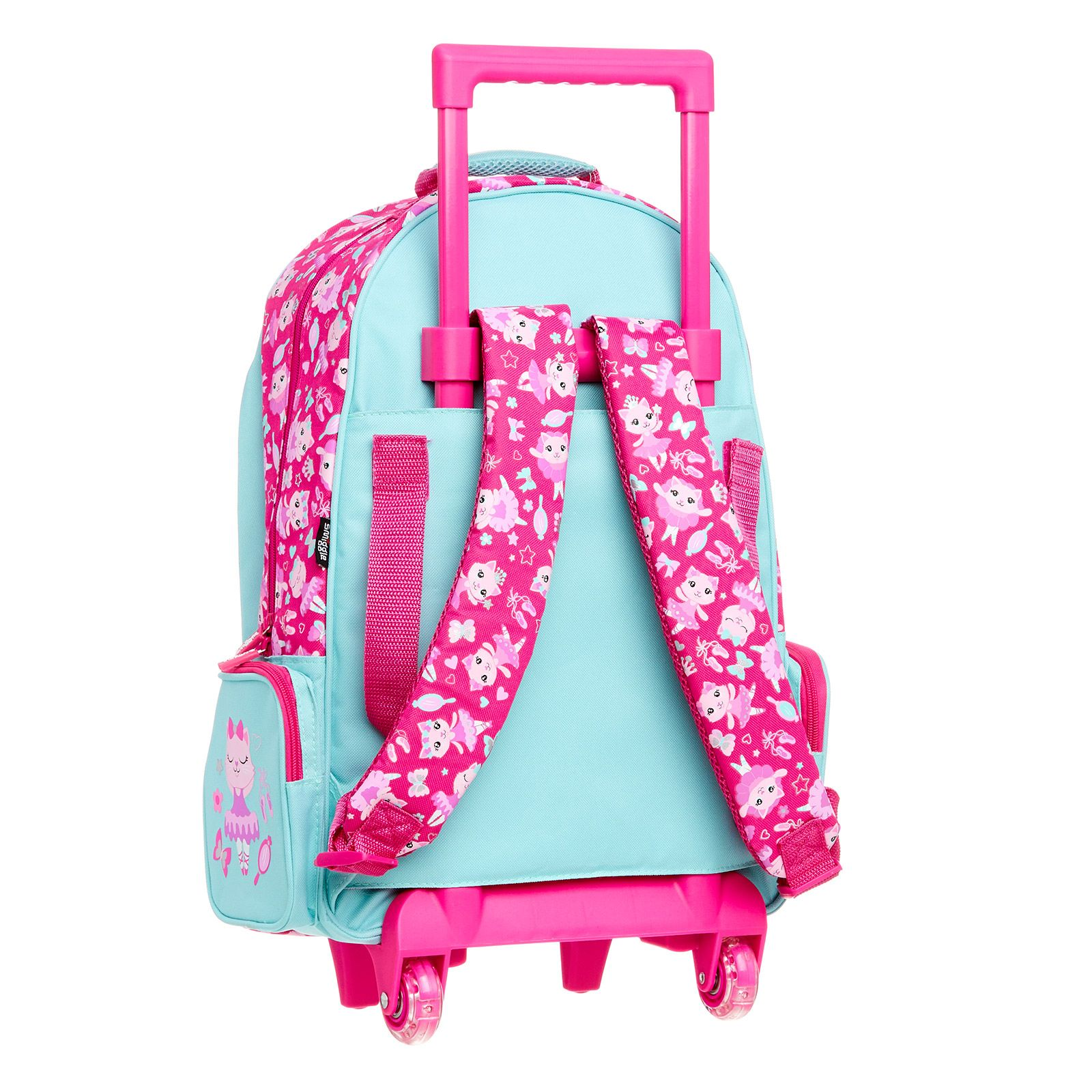 Swish Light Up Trolley Bag Smiggle School Bags For Kids Bags Australia School Bags