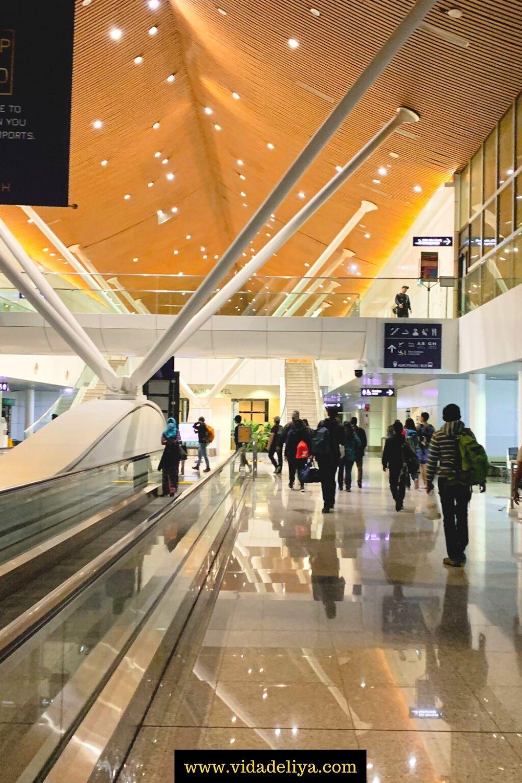 Immigration Process at Kuala Lumpur International Airport