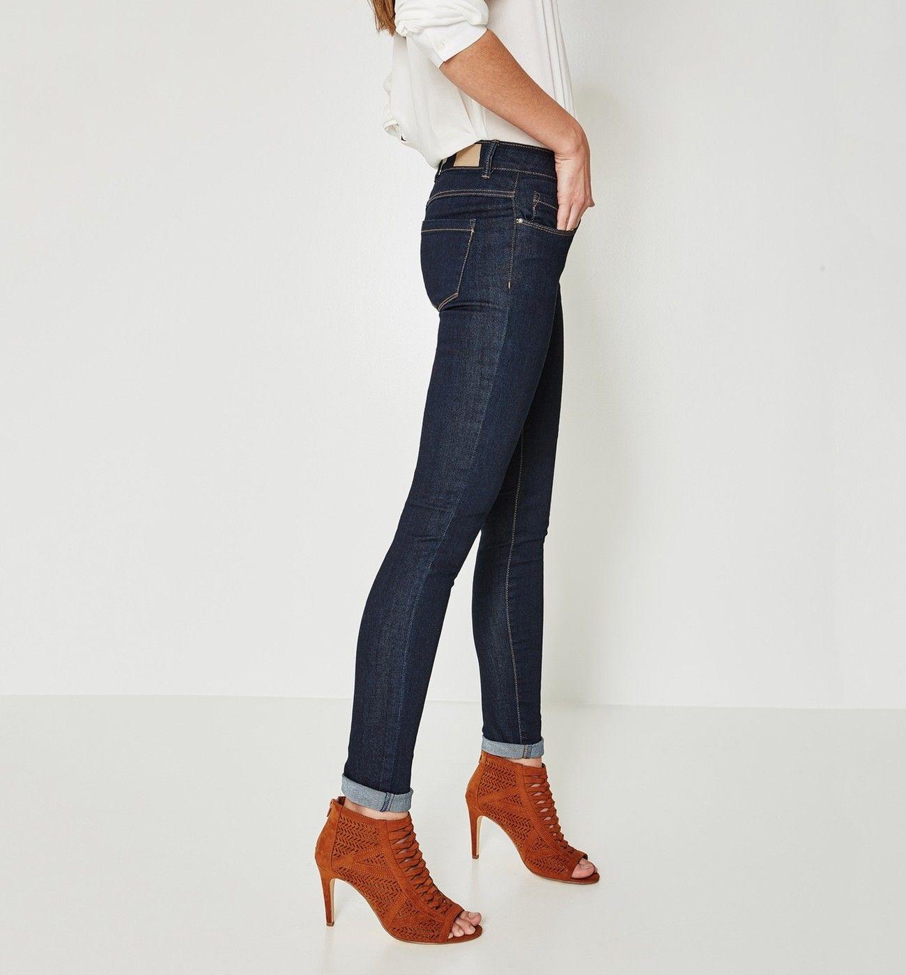 13b64f08e1c5 Jean skinny GASPARD - Jean rinse - Jeans - Femme - Promod   Wishlist ...