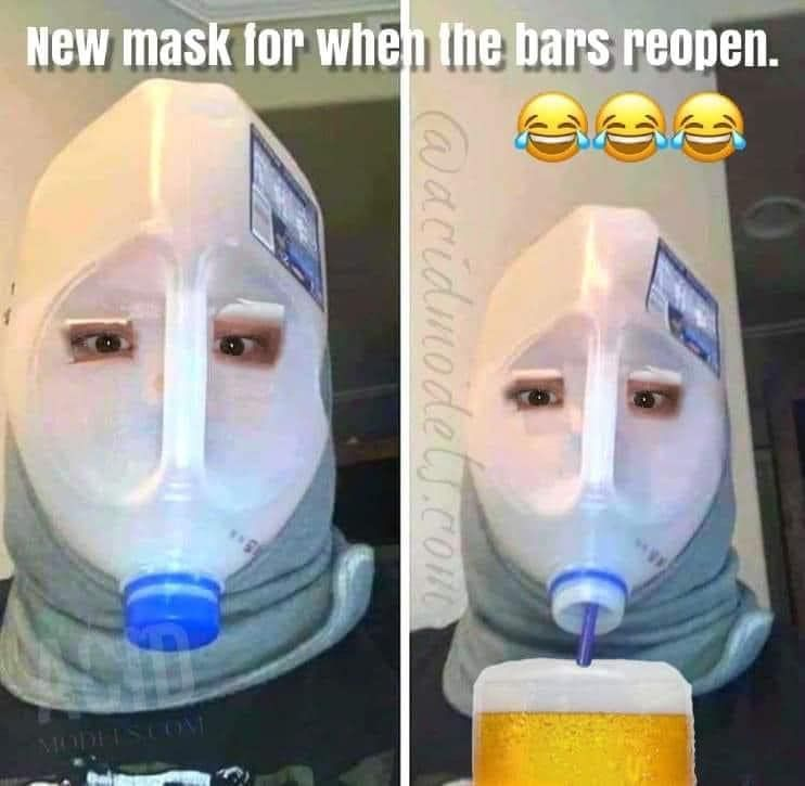 Funny Collection of Wearing A Mask Memes