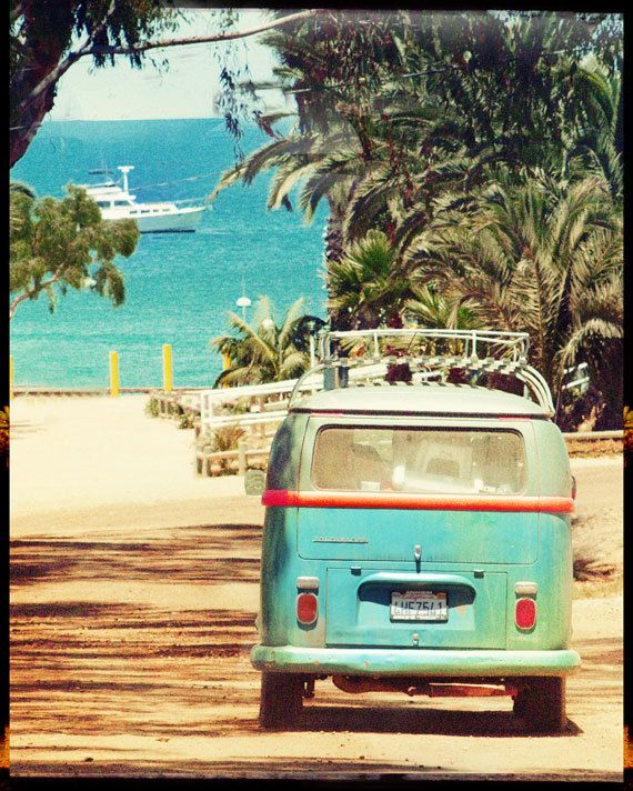 Arte Foto tomada en la isla de Catalina, que siempre tiene una onda ...
