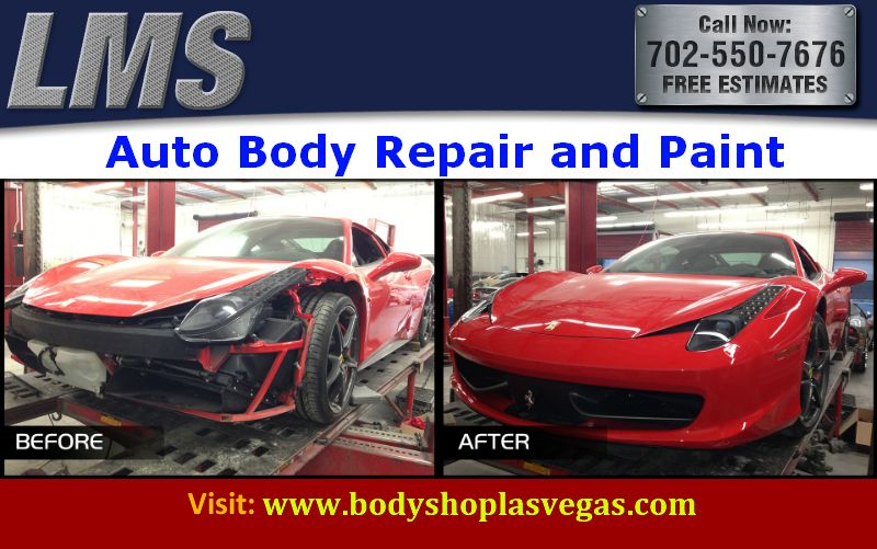 LMS Auto Body   Paint  provide auto body and paint service for a     LMS Auto Body   Paint  provide auto body and paint service for a wide range  of model cars  Our certified Auto Body   Paint technicians work and team up  to