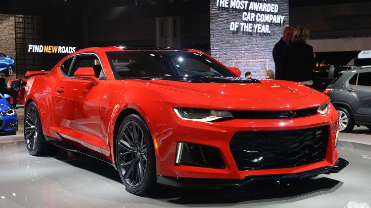 2017 Chevrolet Camaro ZL1 New York 2016 Gallery