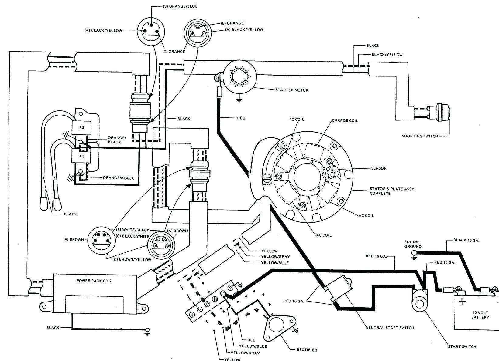 Mercury Outboard Rectifier Wiring Diagram In 2020 Electric Choke Electrical Diagram Diagram