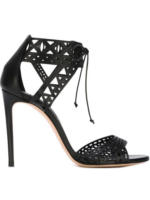 Shop Casadei laser-cut sandals in Russo Capri from the world's best independent boutiques at farfetch.com. Shop 400 boutiques at one address.