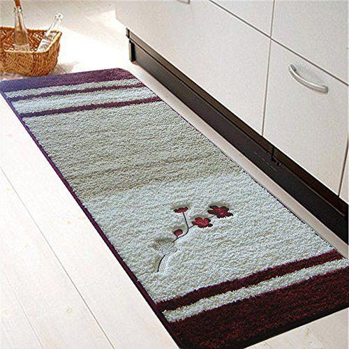Best Kictchen Rugs Softy Nonslip Kitchenbathroom Mat Rug Rubber