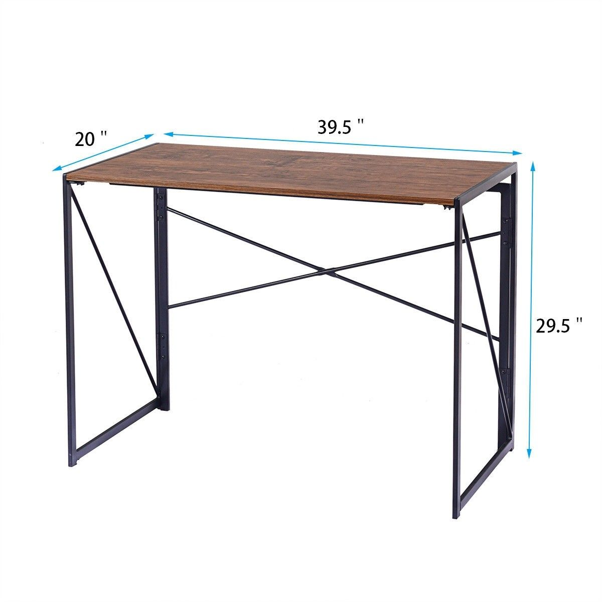 Home Office Folding Modern Simple Study Computer Desk Material