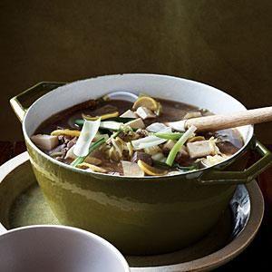Korean-style Tofu, Vegetable, and Beef Stew | MyRecipes.com