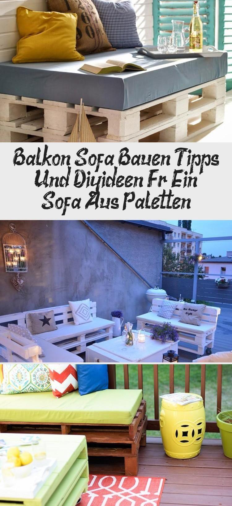 Balkon Sofa Bauen Tipps Und Diy Ideen Fur Ein Sofa Aus Paletten Decor Home Decor Furniture