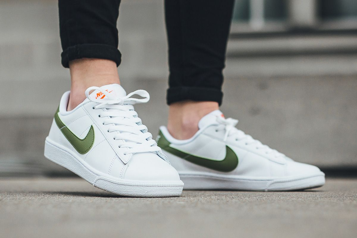 Nike wmns Tennis Classic: White/Palm Green