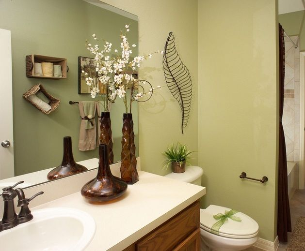 Bathroom Designs On A Budget Flower Vases And Wired Craft For Bathroom Decorating Ideas Budget