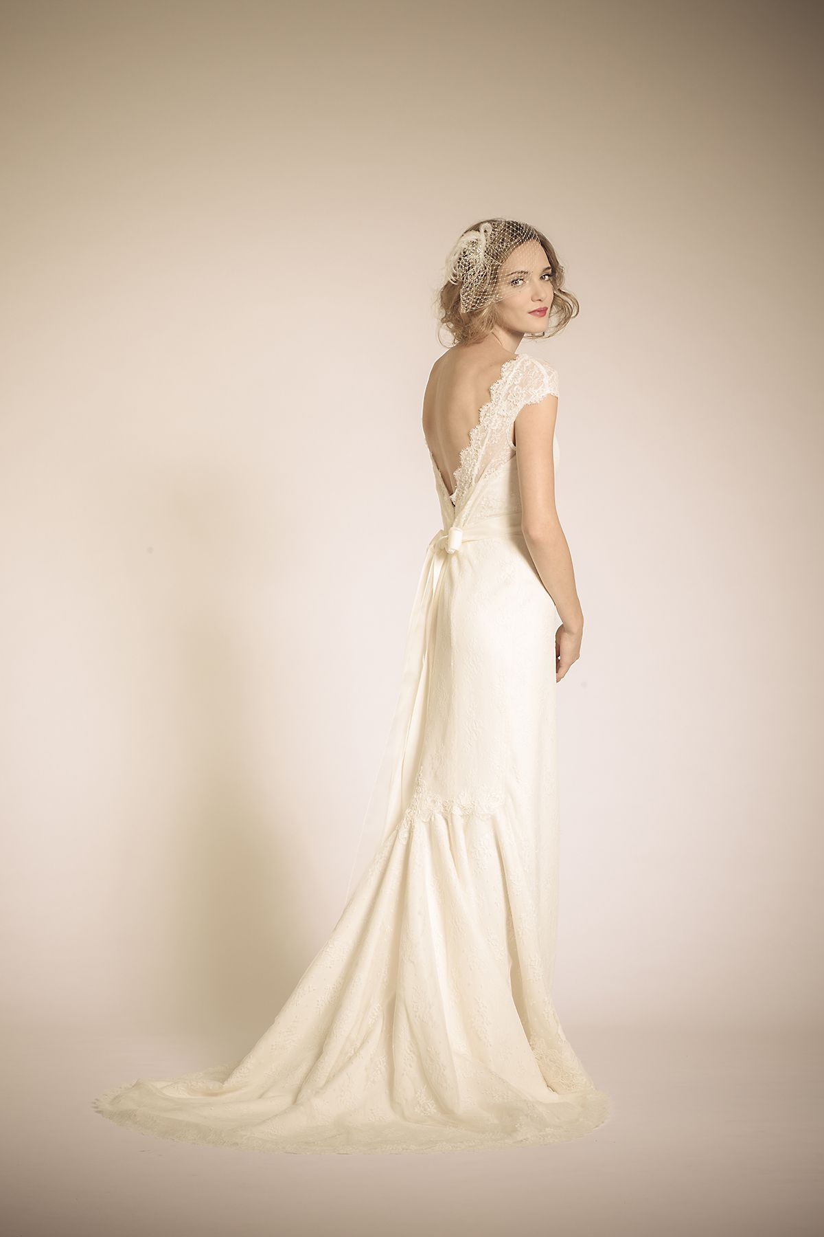 Amy Kuschel Bride San Francisco: Coretta Gown. Layers of Lace, grace ...
