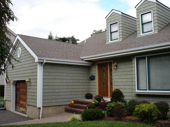 Joe Percario General Contractors Craneboard Cedar Impressions Triple 6 Clapboard Siding Cypress With Aspen W Clapboard Siding White Siding House Exterior
