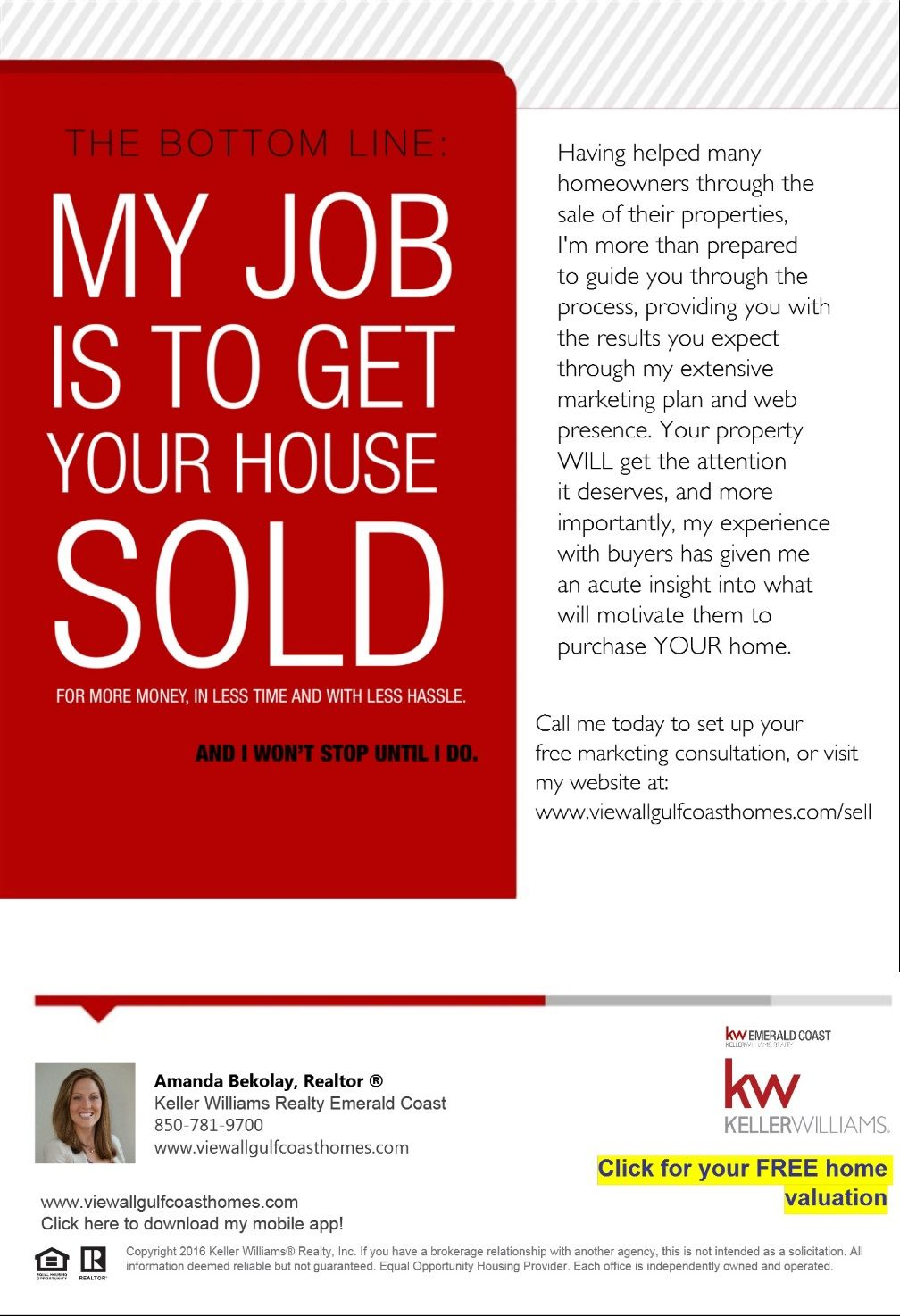The bottom line attention home selling tips home