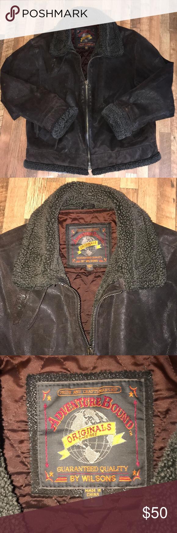 Men's Adventure Bound by Wilson's Leather Coat Wilsons