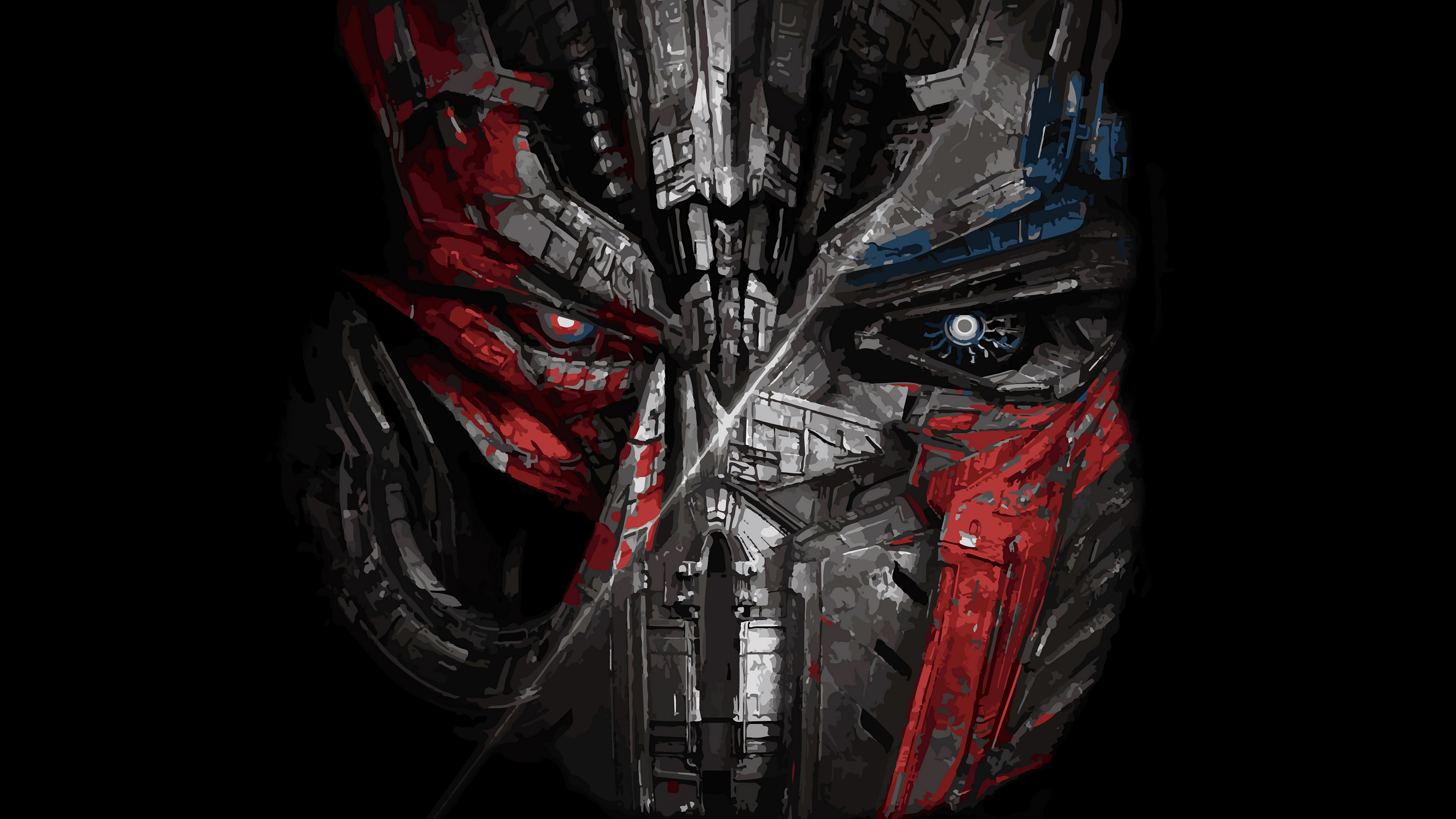 Cool Megatron And Optimus Prime Transfomers The Last Knight