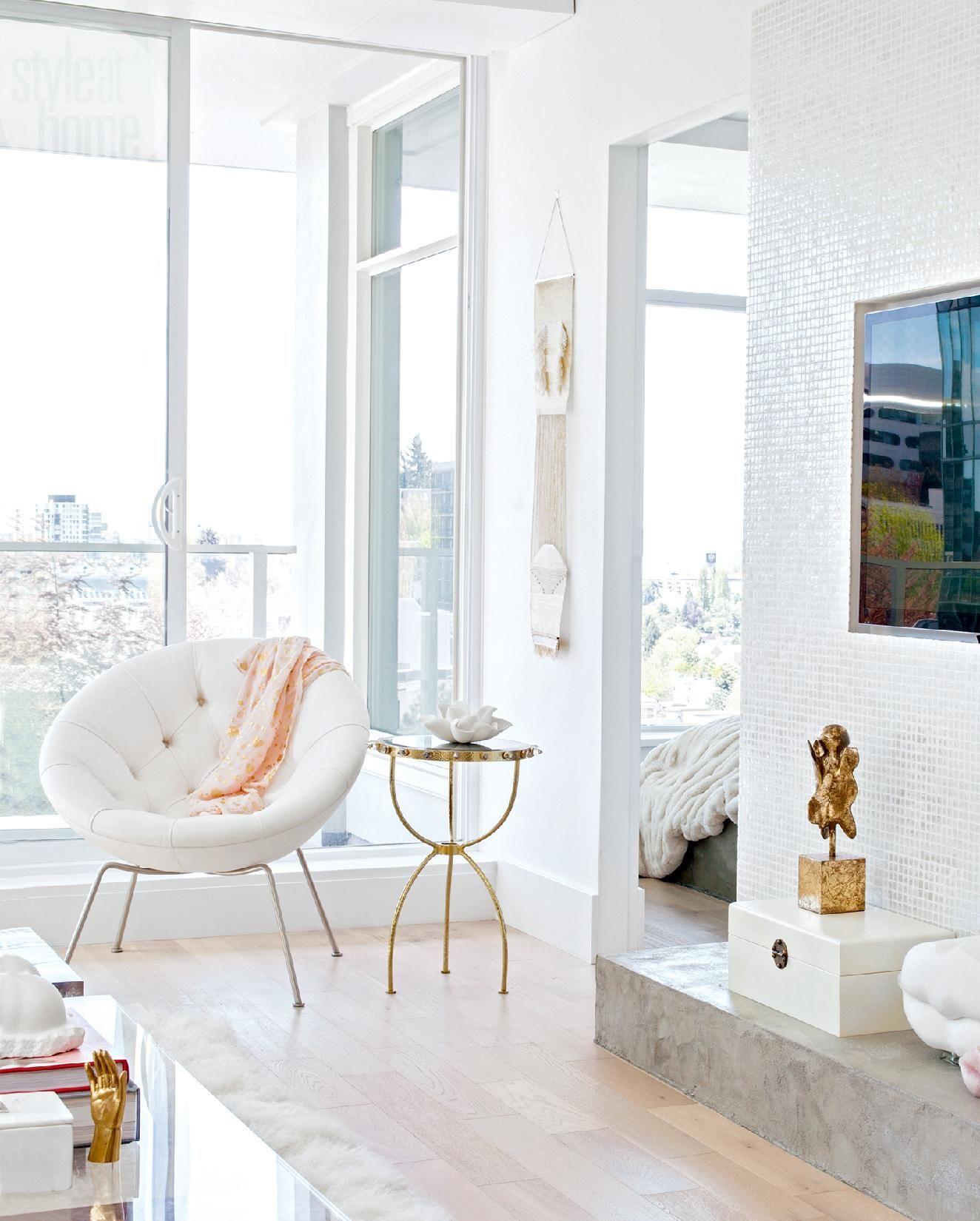 Home Design Ideas For Condos: Condo Tour: Elegant Eclectic Design