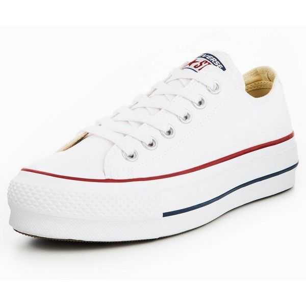 b81a2cbbc4f9 Converse Converse Chuck Taylor All Star Lift Platform Ox (270 BRL) ❤ liked  on Polyvore featuring shoes