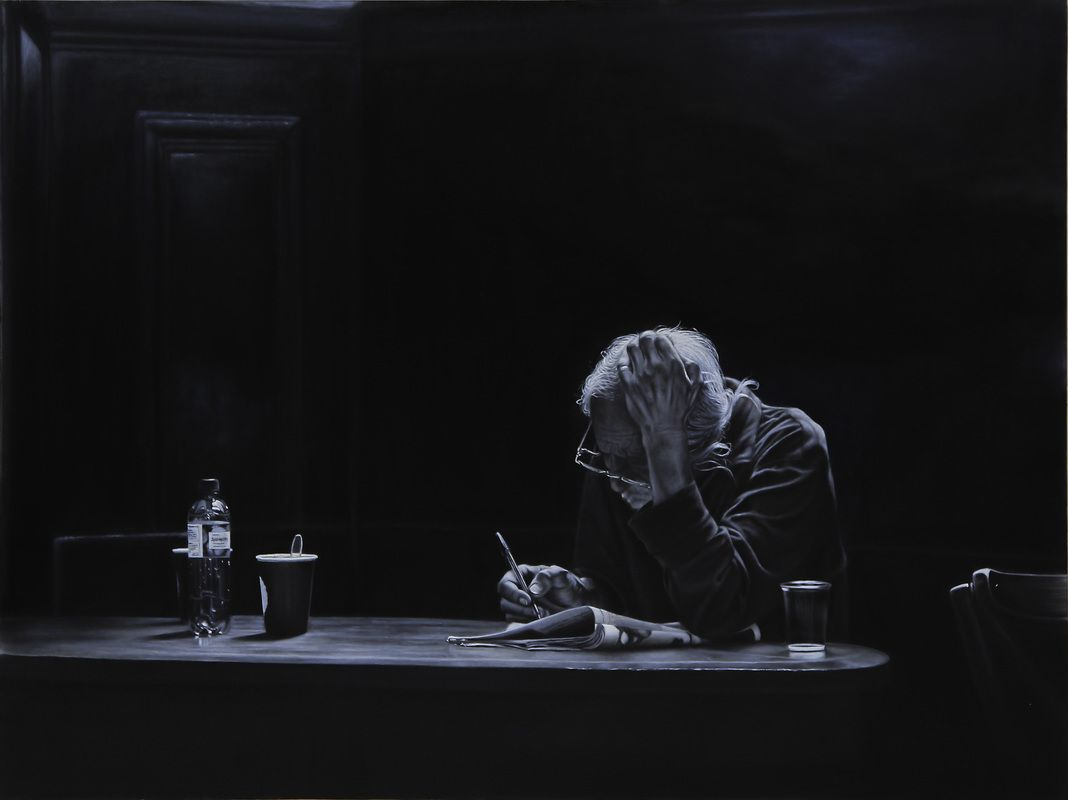 Peijing You - Nothing Else But Yourself 2015 3' x 4', Oil on Canvas