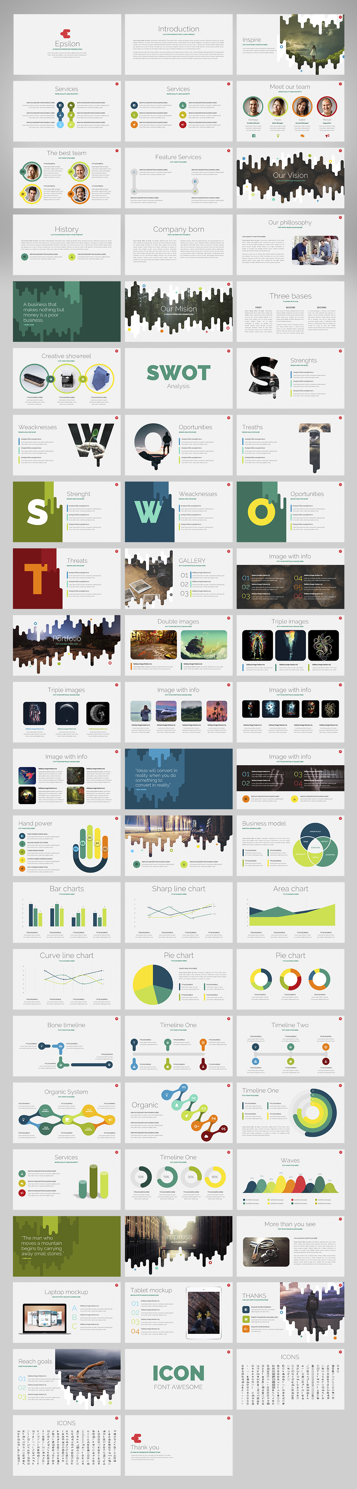 Five Stars | Powerpoint Bundle by Zacomic Studios on @creativemarket ...