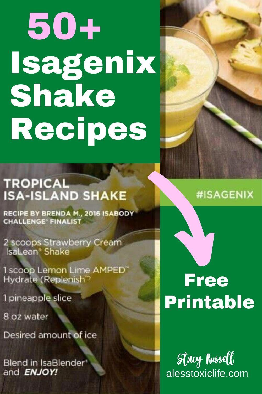 50 isagenix shake recipes best isagenix shake recipes