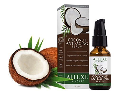Alluxe Antiaging Coconut Serum 1 Oz Special Product Just For You See It Now Best Anti Aging Products Anti Aging Skin Care Serum Aging