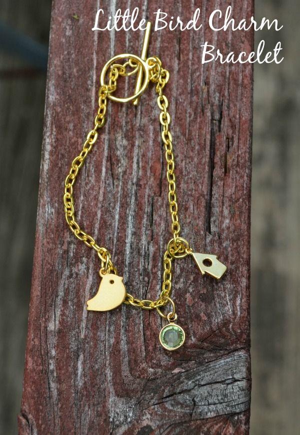 Little Bird Family Charm Bracelet Tutorial