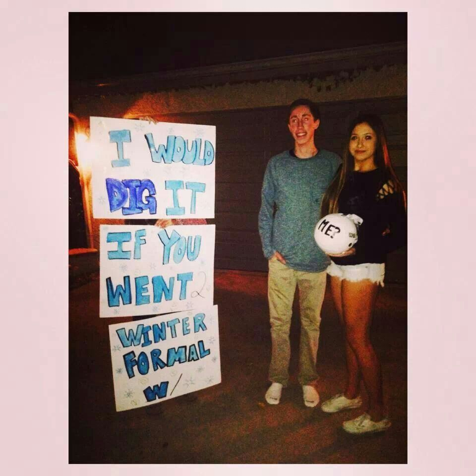 How To Ask A Volleyball Player To A Dance Homecoming Proposal Cute Homecoming Proposals Dance Proposal