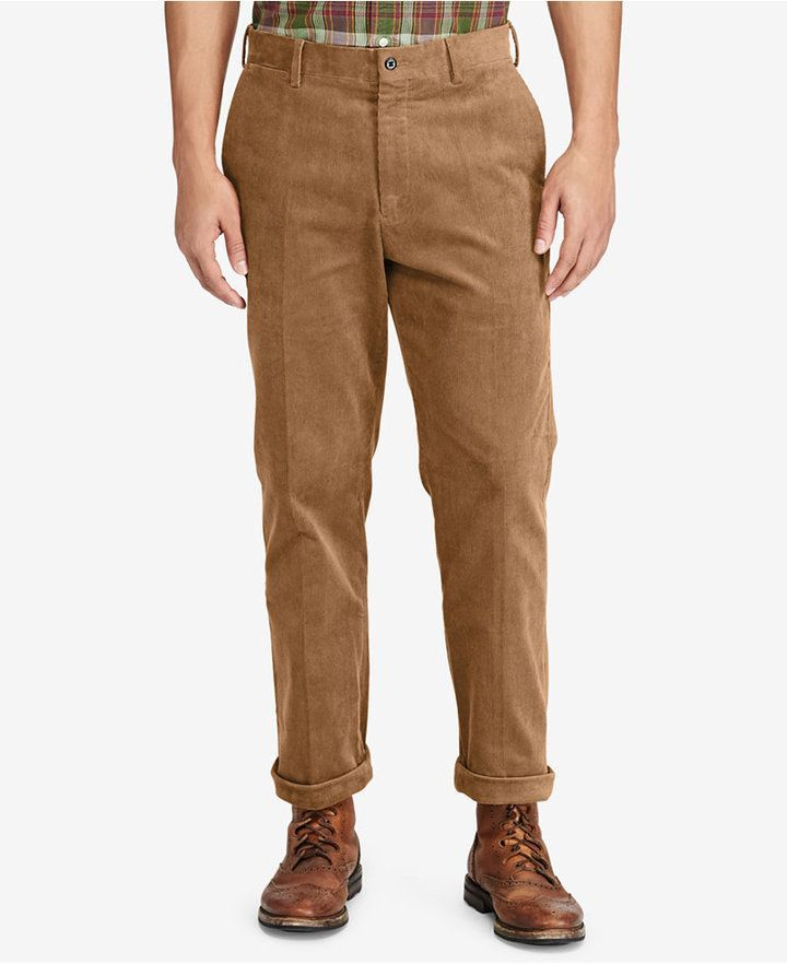 Polo Ralph Lauren Mens Big /& Tall Stretch Classic-Fit Corduroy Pants